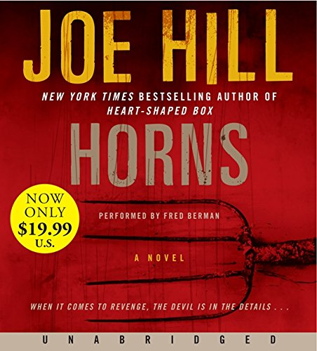 9780062314284: Horns Low Price CD: A Novel