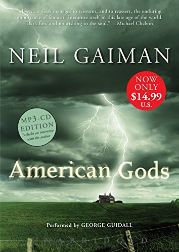 9780062314291: American Gods Low Price MP3 CD