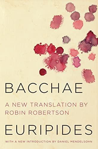 9780062319661: Bacchae