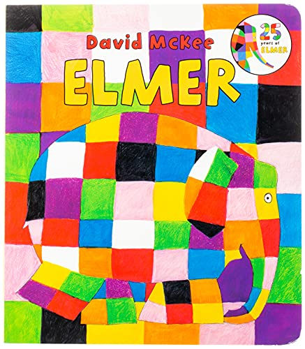 9780062324054: Elmer Board Book