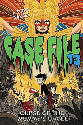9780062324061: Case File 13 #4: Curse of the Mummy's Uncle