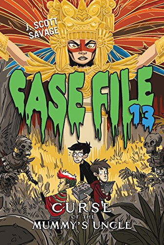 9780062324078: Case File 13 #4: Curse of the Mummy's Uncle