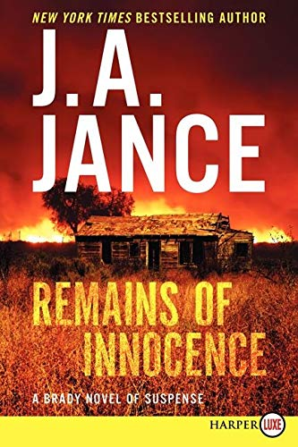 9780062326423: Remains of Innocence LP: A Brady Novel of Suspense (Joanna Brady Mysteries)