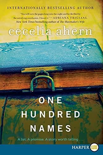 9780062327970: One Hundred Names