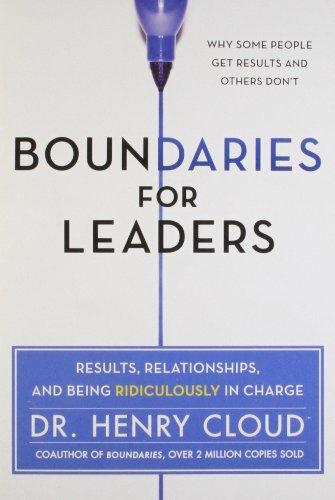 9780062328809: BOUNDARIES FOR LEADERS