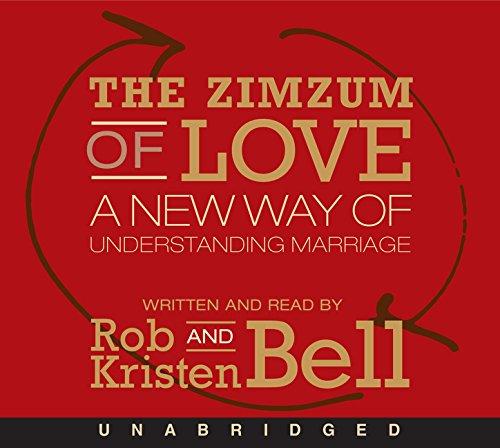 9780062331823: The Zimzum of Love CD: A New Way of Understanding Marriage