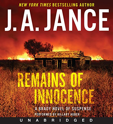 9780062332332: Remains of Innocence CD: A Brady Novel of Suspense (Joanna Brady)
