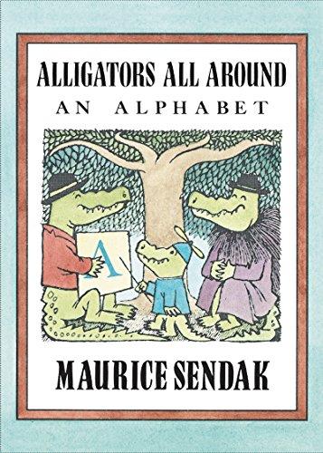 9780062332455: Alligators All Around Board Book