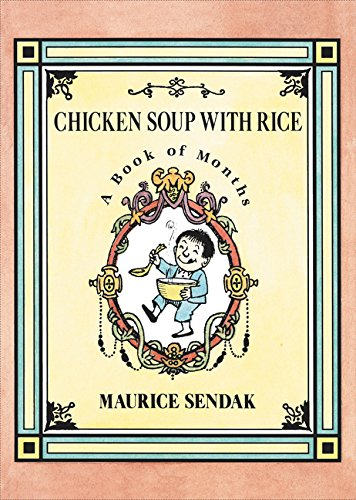 9780062332462: Chicken Soup with Rice. Board Book: A Book of Months