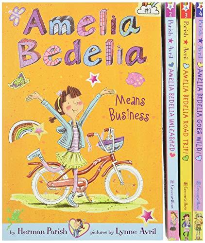 9780062334206: Amelia Bedelia Boxed Set: Amelia Bedelia Means Business/Amelia Bedelia Unleashed/Amelia Bedelia Road Trip!/Amelia Bedelia Goes Wild! (Amelia Bedelia Chapter Book)