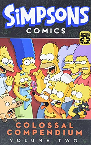 9780062336095: Simpsons Comics Colossal Compendium Volume 2