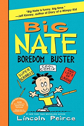 9780062338006: Big Nate Boredom Buster (Big Nate Activity Book)