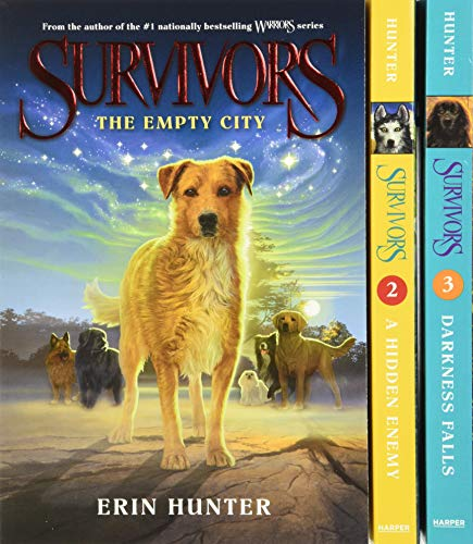 9780062342836: Survivors Box Set: The Empty City/A Hidden Enemy/Darkness Falls