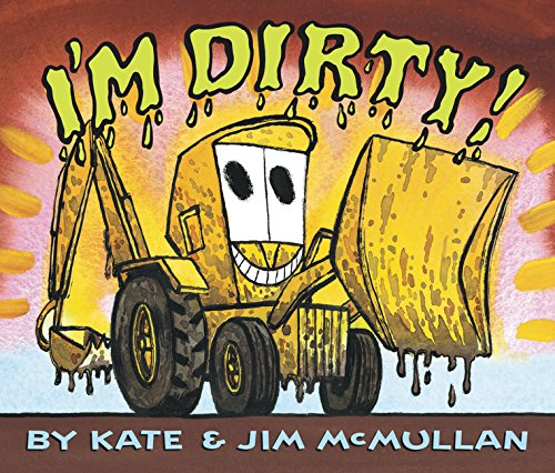 9780062343185: I'm Dirty! Board Book
