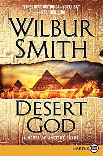 9780062344113: Desert God: A Novel of Ancient Egypt