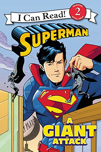 9780062344885: Superman Classic: A Giant Attack (I Can Read Books: Level 2)