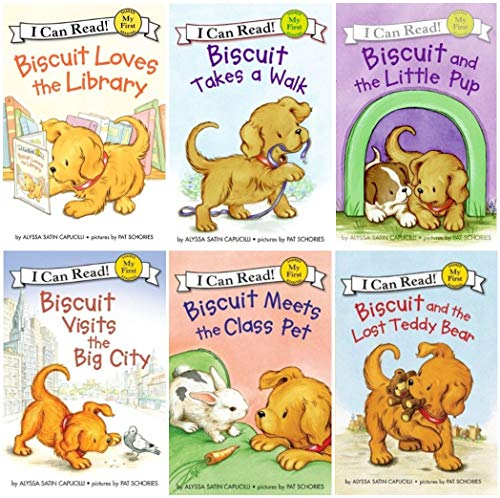 9780062347312: I Can Read : Biscuit and the Lost Teddy Bear, Biscuit Loves the Library, Biscuit Visits the Big City, Biscuit Meets the Class Pet, Biscuit and the Little Pup, Biscuit Takes a Walk - 6 Book Set