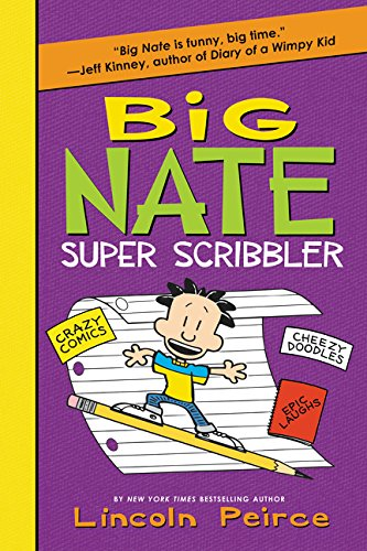 9780062349224: Big Nate Super Scribbler (Big Nate Activity Book)