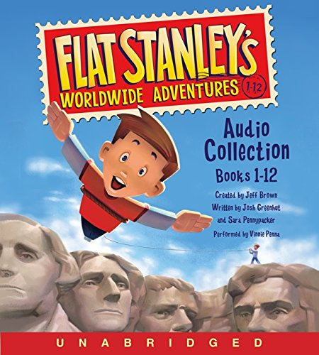 9780062349491: Flat Stanley's Worldwide Adventures Audio Collection: Books 1-12