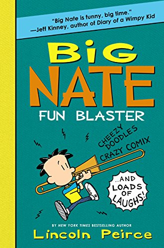9780062349514: Big Nate Fun Blaster: Cheezy Doodles, Crazy Comix, and Loads of Laughs! (Big Nate Activity Book)