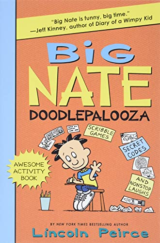9780062349521: Big Nate Doodlepalooza (Big Nate Activity Book)