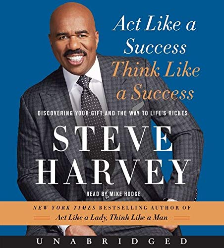 9780062350602: Act Like a Success, Think Like a Success CD: Discovering Your Gift and the Way to Life's Riches