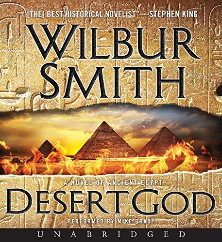 9780062350916: Desert God CD: A Novel of Ancient Egypt (The Egyptian Series)