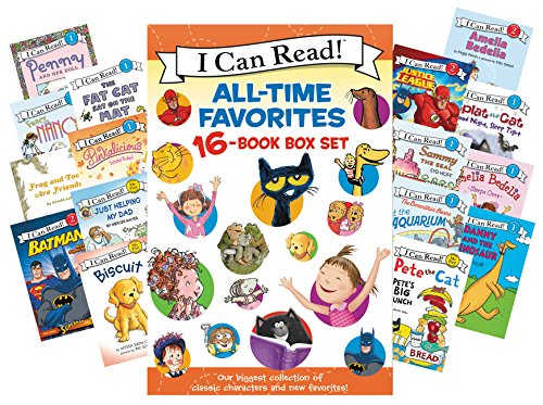 9780062352194: I Can Read All-Time Favorites 16-Book Box Set