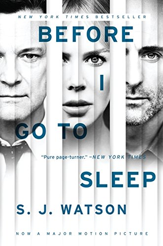 9780062353887: Before I Go to Sleep tie-in: A Novel