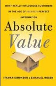 9780062356864: ABSOLUTE VALUE