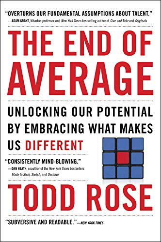 9780062358370: The End of Average: Unlocking Our Potential by Embracing What Makes Us Different