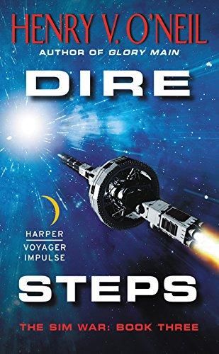 9780062359254: Dire Steps: The Sim War: Book Three