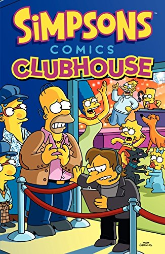 9780062360601: Simpsons Comics Clubhouse
