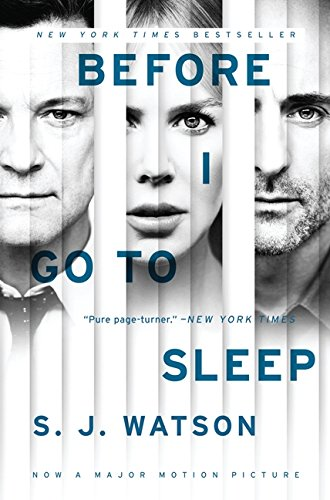 9780062360625: Before I Go to Sleep Movie Tie-In Edition