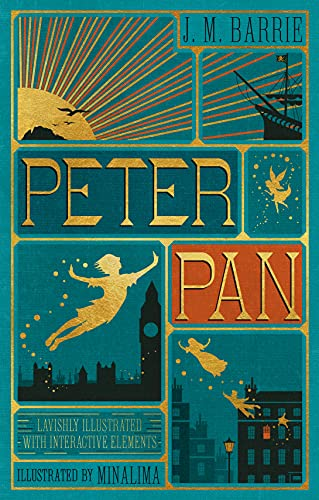 9780062362223: Peter Pan (Illustrated with Interactive Elements)
