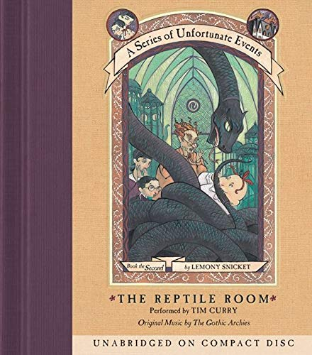9780062362698: A Series of Unfortunate Events #2: The Reptile Room CD