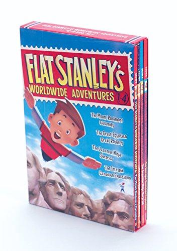 9780062365934: Flat Stanley's Worldwide Adventures #1-4 Box Set