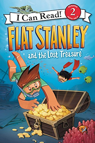 9780062365958: Flat Stanley and the Lost Treasure (I Can Read! Level 2: Flat Stanley)