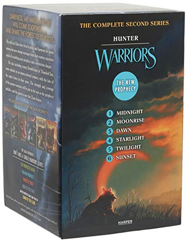 9780062367150: Warriors: The New Prophecy Box Set: Volumes 1 to 6: The Complete Second Series