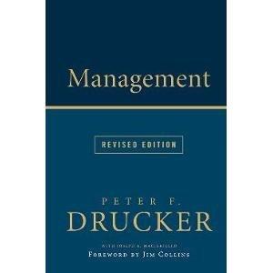 9780062371355: Management Rev Ed [Paperback] [Jan 01, 2014] PETER F. DRUCKER