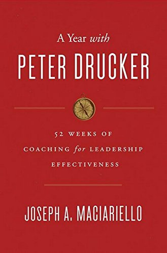 9780062371447: A Year with Peter Drucker