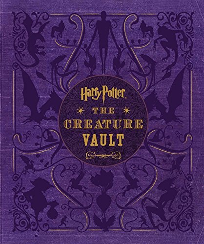 9780062374233: Harry Potter: The Creature Vault: The Creatures and Plants of the Harry Potter Films [With Poster]