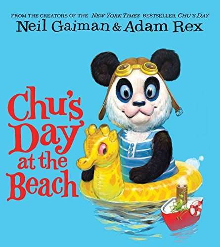 Chu's Day at the Beach Board Book: Gaiman, Neil