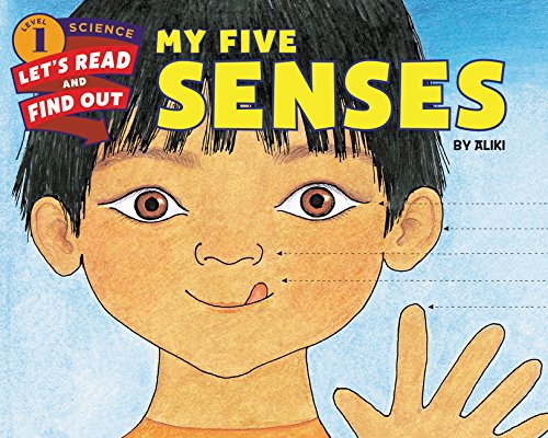 9780062381927: My Five Senses (Let's-Read-and-Find-Out Science 1)