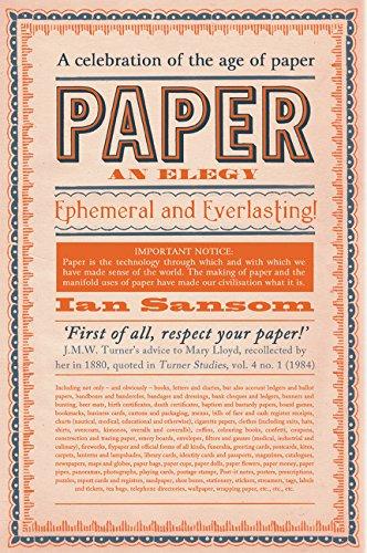 9780062385239: Paper: An Elegy