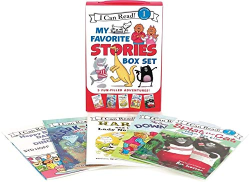 9780062385345: I Can Read My Favorite Stories Box Set: Happy Birthday, Danny and the Dinosaur!; Clark the Shark: Tooth Trouble; Harry and the Lady Next Door; The ... the Cat Makes Dad Glad (I Can Read Book 1)