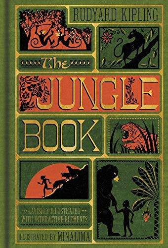 9780062389503: The Jungle Book (Illustrated with Interactive Elements)