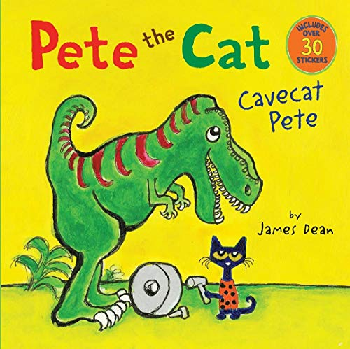 9780062390202: Pete the Cat in Caveat Pete By James Dean (For Ages 4-8) [Paperback]