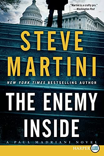9780062392862: The Enemy Inside LP: A Paul Madriani Novel