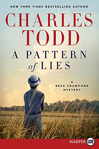 9780062393104: A Pattern of Lies LP: A Bess Crawford Mystery (Bess Crawford Mysteries)
